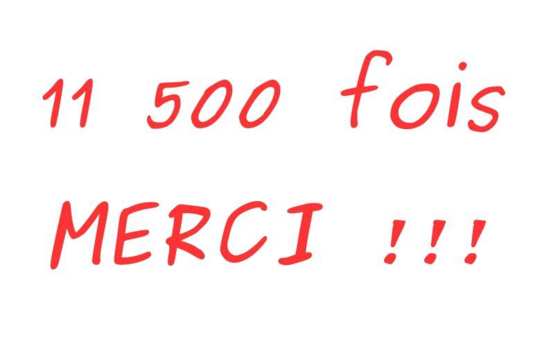 11500 fois merci !!