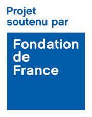 """logo """"projet soutenu par la fondation de france"""""""